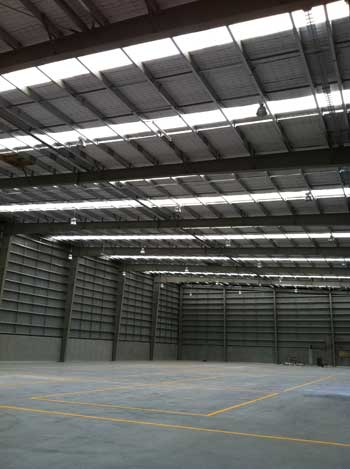 Fire Protection in large warehouse